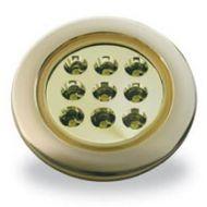 Lampa Spot LED Jokon, oprawa złota, barwa światła: ciepły biały