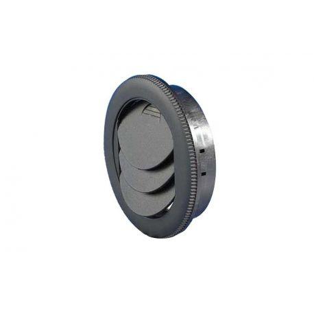 Dysza okrągła RD120.0 Konvex, czarna