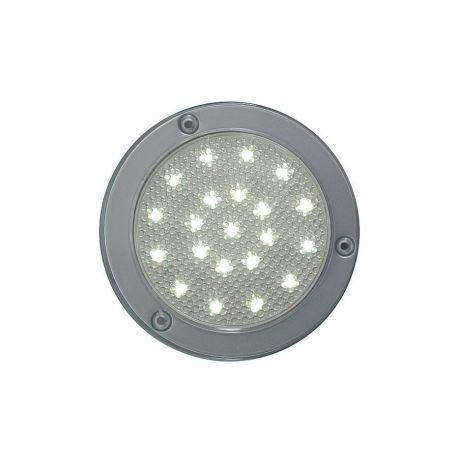 Lampa LED 24V, srebrno-szara, bez wyłącznika